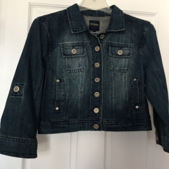 Highway Jeans Jackets & Blazers - Highway Crop Jean Jacket L